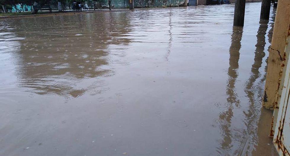 Intensa lluvia deja sectores inundados en Chiclayo (FOTOS)