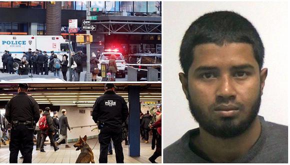El sospechoso del atentado en Nueva York es acusado de apoyar al Estado Islámico