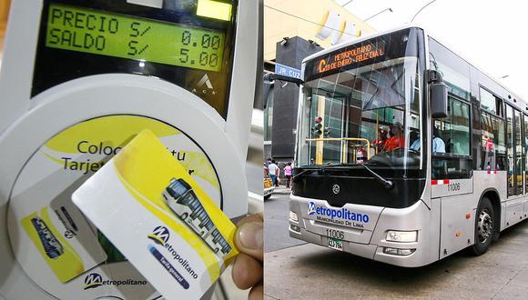 Metropolitano: Protransporte expondrá propuesta técnica para evitar alza de tarifas