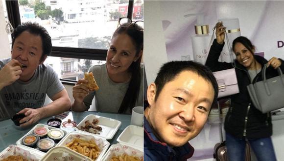 Erika Muñoz Regis es la esposa de Keiko Fujimori desde la tarde del martes 30 de junio.   Foto: Instagram.