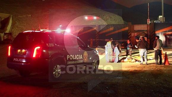 Callao: vigilante murió tras ser atropellado por camión