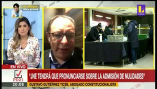 """Gustavo Gutiérrez sobre resultados de elecciones: """"Si hay proclamación, no hay nada que hacer"""" (VIDEO)"""