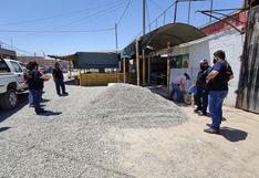 Ica: Operativo a negocios locales en el sector camino a Huacachina