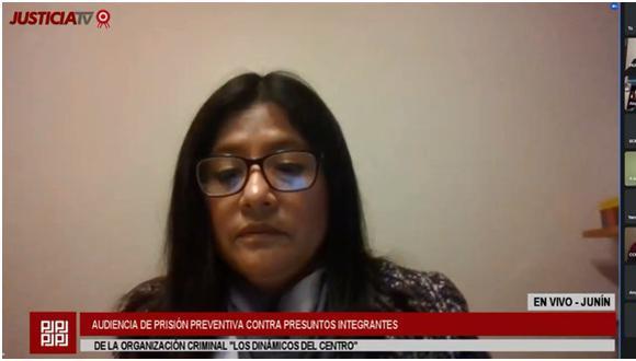 La sala de apelaciones dispuso que no sea la jueza July Baldeón la que vuelva a revisar el pedido de la fiscalía. (Foto: Justicia TV)