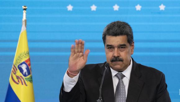 Nicolás Maduro denuncia actos de violencia. (Foto: Yuri CORTEZ / AFP).