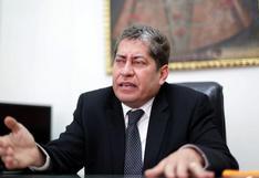 Espinosa-Saldaña preocupado por reglamento para elección de magistrados del TC