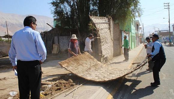 Recuperan terreno de propiedad de la municipalidad distrital de Uraca Corire