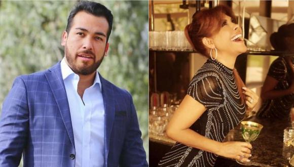 Álvaro Paz de la Barra, esposo de Sofía Franco, responde a Magaly Medina. | Foto: Composición.