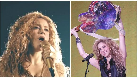 Shakira reveló por primera vez qué hizo para recuperar su voz (VIDEO)