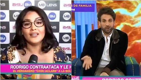 Michelle Soifer responde a Rodrigo González por criticar al jurado de 'El Artista del Año' (VIDEO)