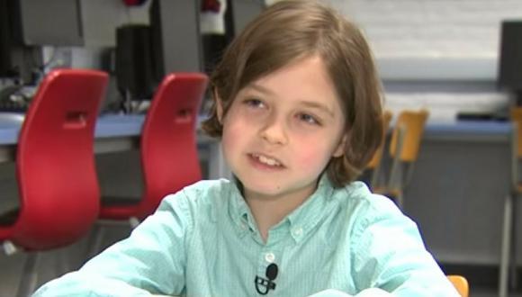 Niño belga ingresó a la universidad con tan solo 8 años (VÍDEO)