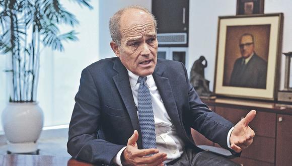 """Roque Benavides: """"Respetemos los poderes si se quiere inversiones"""""""