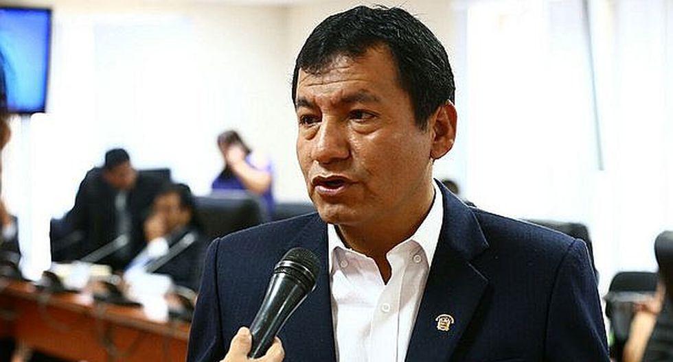 PJ solicita al Congreso autorización para hacer efectiva condena a congresista Joaquín Dipas