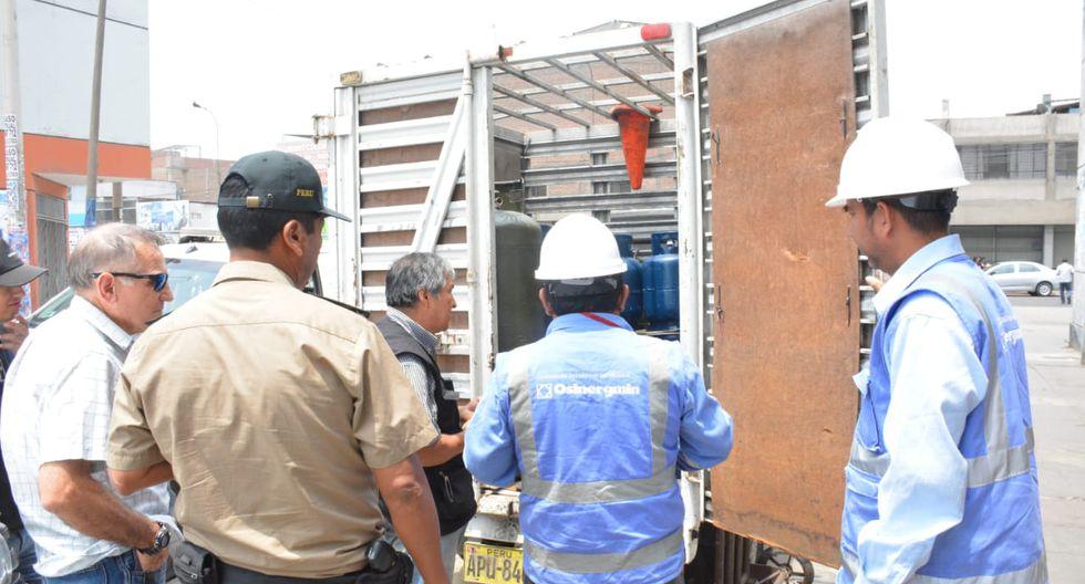 La operación contó con la participación de personal del municipio y fiscalizadores del Organismo Supervisor de la Inversión en Energía y Minería (Osinergmin). (Foto: Municipalidad de La Victoria)