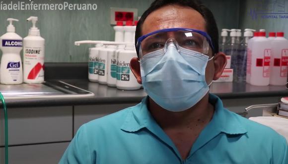 Tras vencer al COVID-19 enfermero ayuda a salvar vidas en hospital de Tarapoto (Foto: Gobierno Regional San Martín).