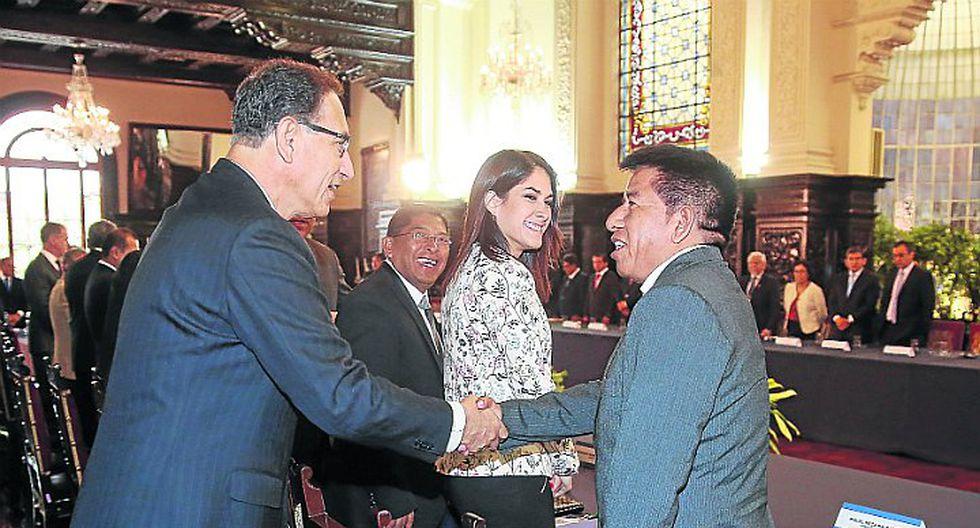 Autoridades electas se reunieron con el presidente Vizcarra