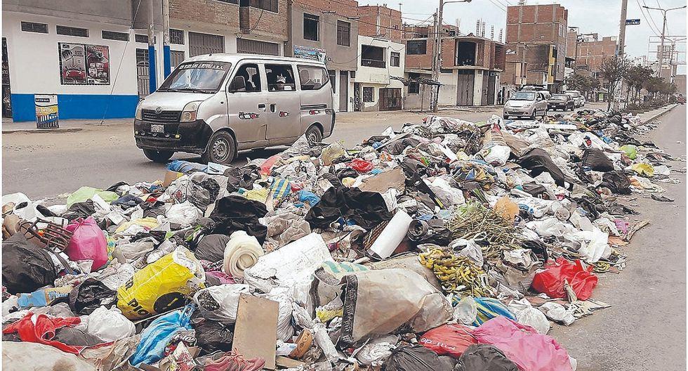 MPCh no recoge 100 toneladas de basura a diario