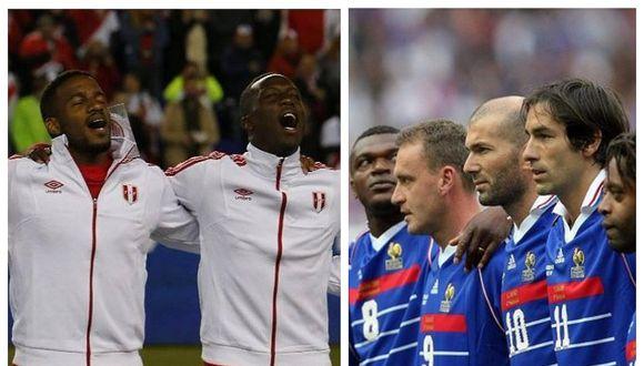 Los dos himnos nacionales más bellos del mundo se escucharán en el encuentro Perú vs. Francia