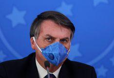 """Jair Bolsonaro califica al coronavirus de """"gripecita"""" y """"resfriadito"""""""