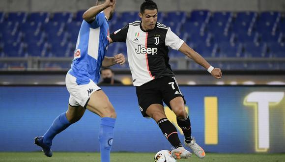 El partido entre Juventus y Napoli debe jugarse este domingo, confirmó la Serie A. (Foto: AFP)