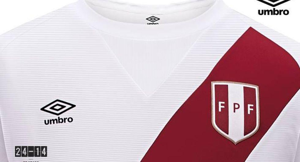 Conoce la nueva camiseta de la Selección Peruana