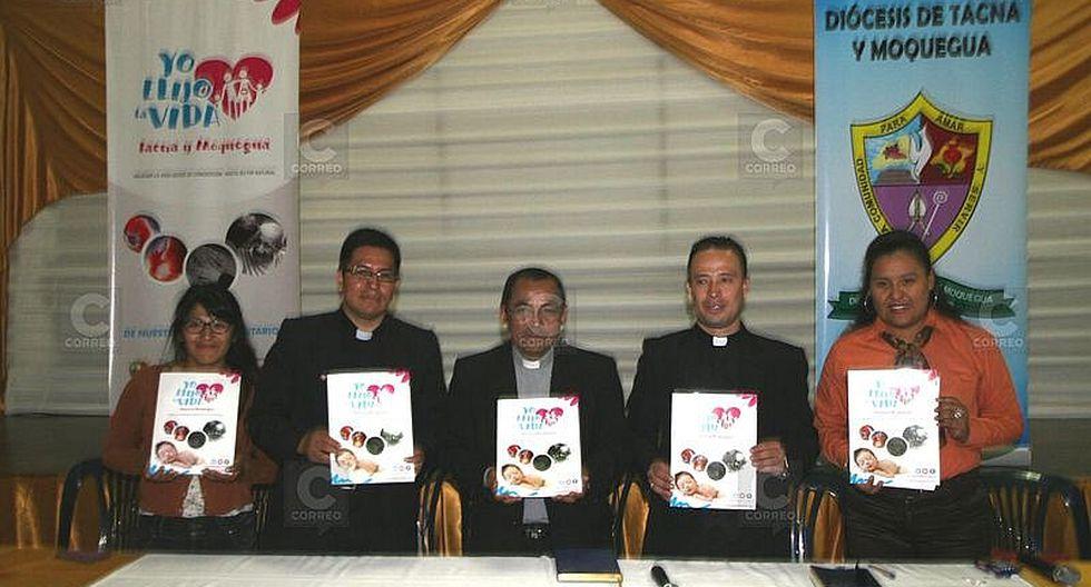 Tacna: Iglesia católica lanza campaña por la vida