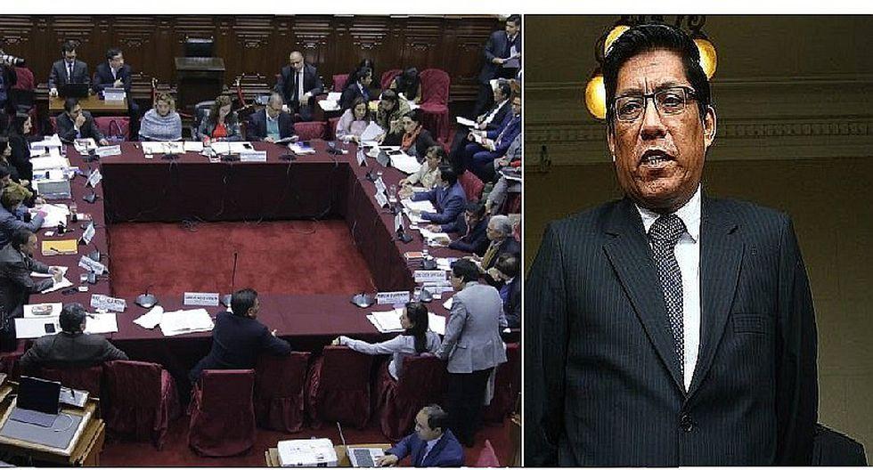 Vicente Zeballos: Comisión de Constitución cita para el martes al ministro de Justicia