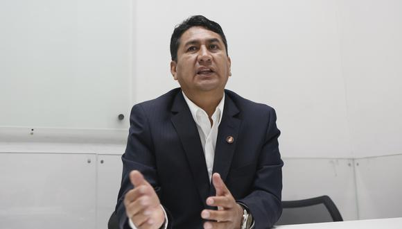 """Vladimir Cerrón dijo que a Perú Libre le """"enorgullece"""" Roger Najar. (Foto: archivo GEC)"""