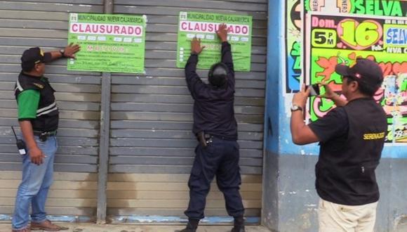 Los negocios en Nueva Cajamarca, Rioja, San Martín, abrieron pese al aislamiento social obligatorio. (Foto: Andina)
