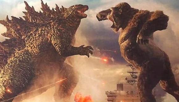 """Aún no se conoce la fecha de estreno de """"Godzila vs Kong"""", cinta cuya llegada se tuvo que ver aplazada por la pandemia de coronavirus. (Foto: Captura Youtube)"""