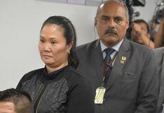 Keiko Fujimori: Fiscal Pérez señaló que existe peligro de fuga
