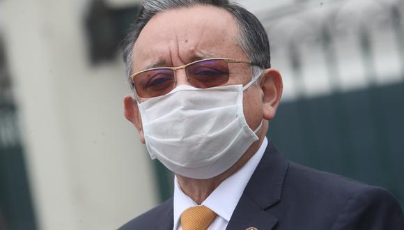 Edgar Alarcón fue denunciado por la fiscal de la Nación, Zoraida Ávalos, por el presunto delito de peculado doloso por apropiación agravada. (Foto: GEC)