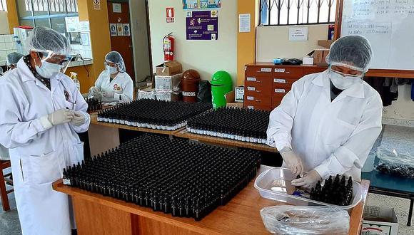 Envansan 20 mil frascos de Ivermectina en la UNA Puno