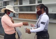 Pisco: Hija vende jabones para comprar la medicina de su papá que lucha contra el COVID-19