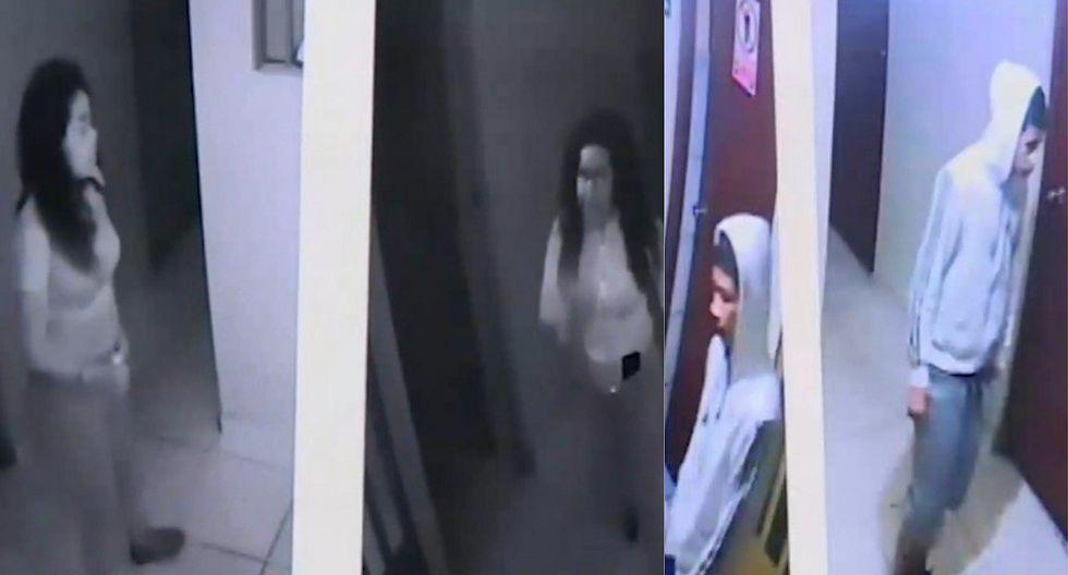 Video dentro de hostal muestra rostros de implicados en descuartizamiento