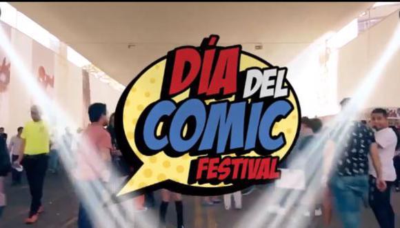 Día del Cómic Festival 2020 se realizará en edición online este 31 de octubre y domingo 1 de noviembre. (Foto: captura de video)