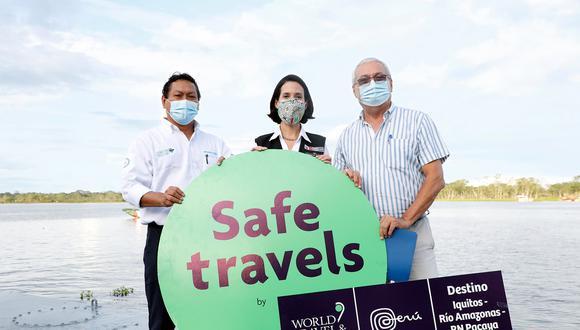 Loreto: ministra Cornejo coordina estrategia para reactivación del turismo en la región (Foto: Mincetur)