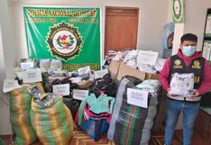 Incautan mercadería de contrabando en Ilave