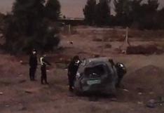 Policía muere tras aparatoso despiste de patrullero policial