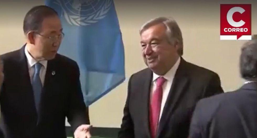 ONU nombra oficialmente a Antonio Guterres nuevo secretario general [VIDEO]