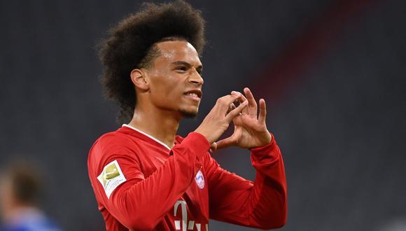 Leroy Sané es cuestionado en Bayern Múnich | Foto: AFP