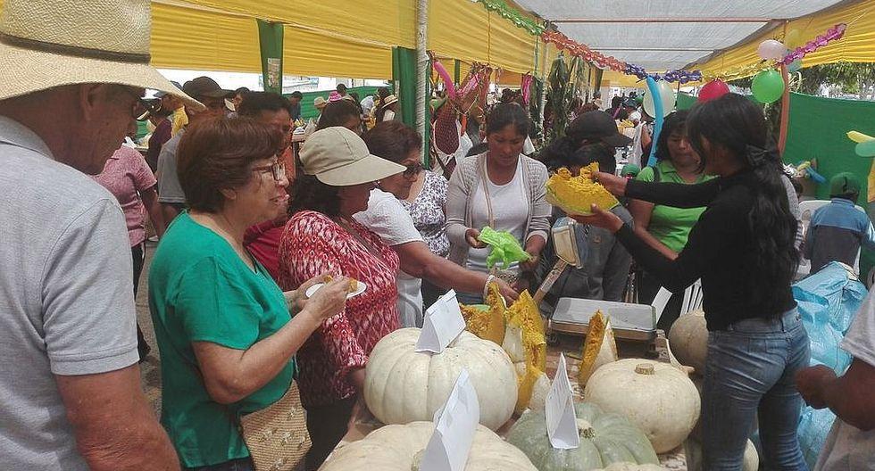 Productores de zapallo buscan vender de manera directa en el mercado Grau