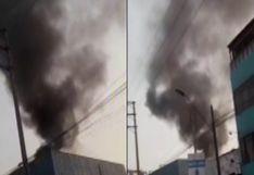 Chorrillos: Se registra incendio en vivienda de avenida Defensores del Morro (VIDEO)