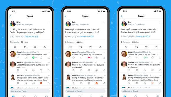 Twitter espera que la gente vote la relevancia de una respuesta para una publicación, para seguir trabajando en nuevos sistemas que permitan mostrar más contenido considerado relevante por los usuarios. (Captura / Twitter Support)