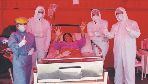 Madre con traumatismo encéfalo craneano logra superar el coronavirus en Chimbote