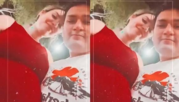 La hija de Jessica Newton le dedicó un amoroso saludo de cumpleaños a Deyvis Orosco, padre de su bebé, junto a un video en el que dejó en evidencia su avanzado estado de gestación. (Foto: Captura)