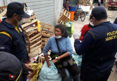 Tacna: Decomisan productos a comerciantes de la feria del altiplano por estado de emergencia