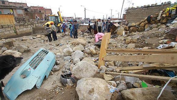 Ministerio de Vivienda reubicará casas que estén en zonas de riesgo