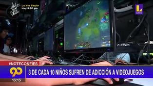 Informe de EsSalud: 3 de cada 10 niños sufren adicción a los videojuegos