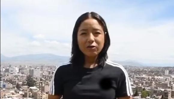 """""""Yo no voy a votar con odio, voy a votar por el Perú"""", asegura la deportista"""